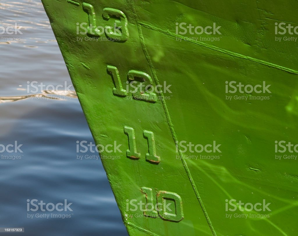 Ships Bow stock photo