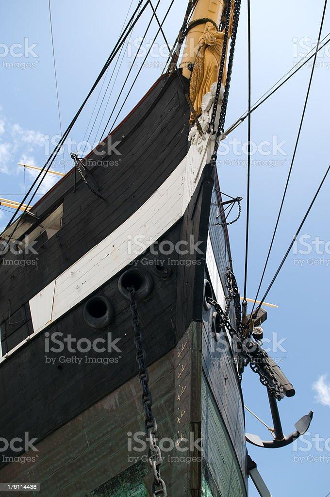 Ships bow stock photo