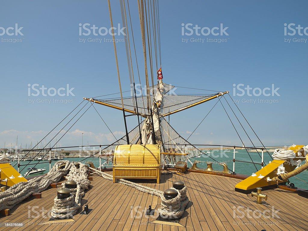 ship's bow stock photo