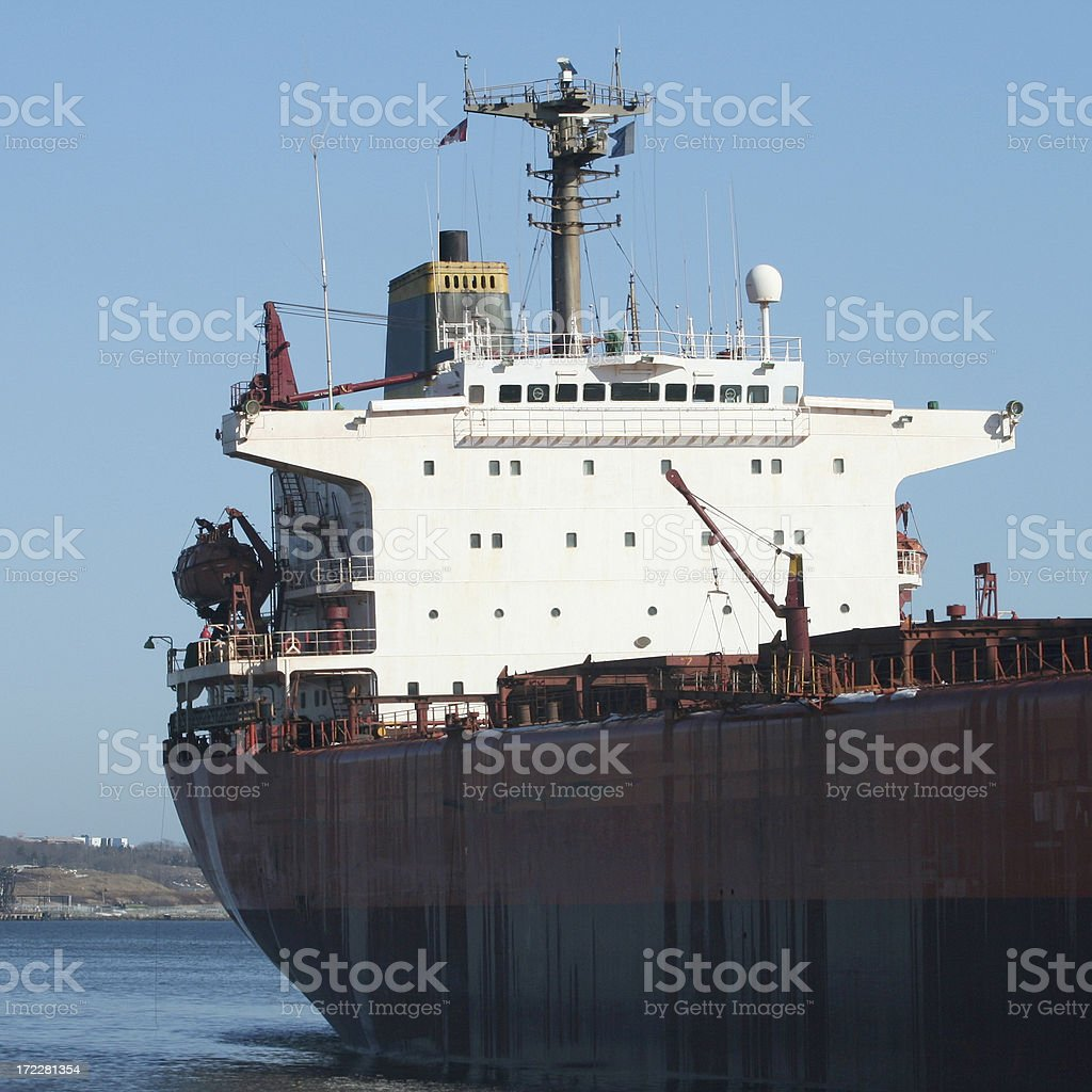 Ships Bridge And Sensors royalty-free stock photo