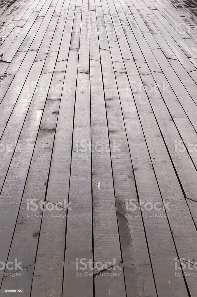 ships deck royalty-free stock photo