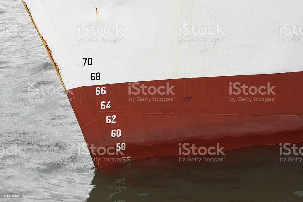 Ships hull royalty-free stock photo