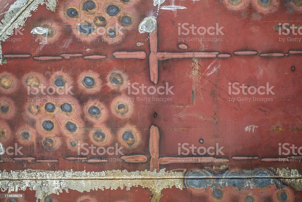 ship's hull surface texture royalty-free stock photo