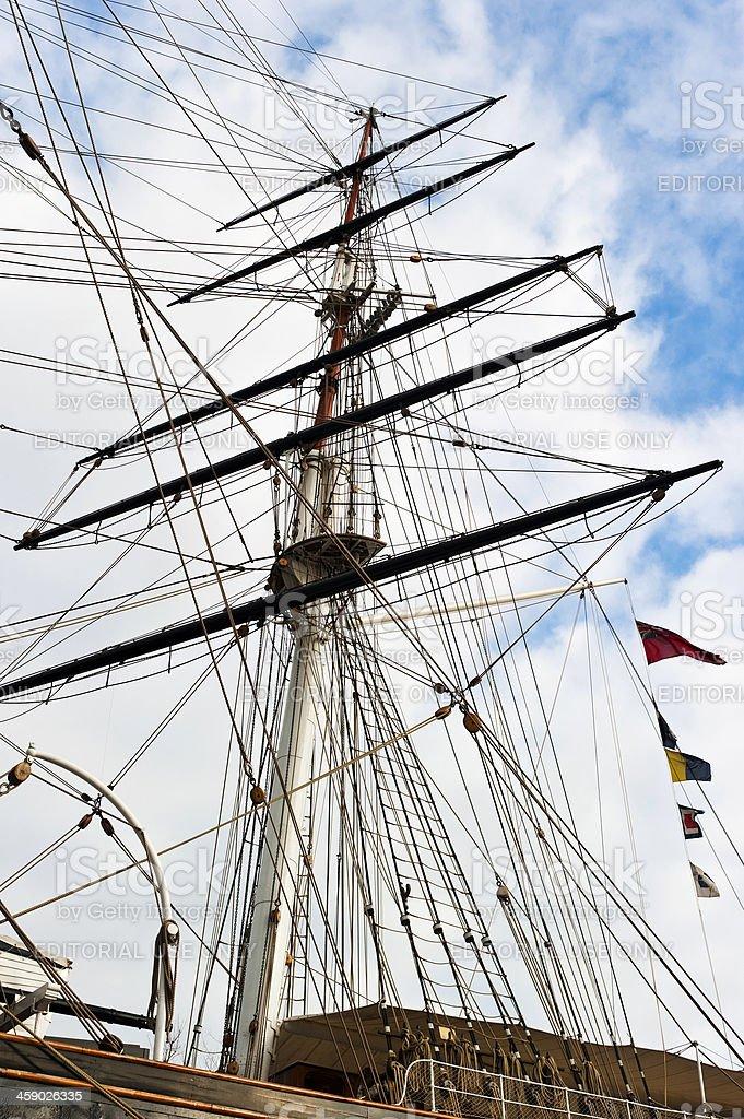 Ships Mast royalty-free stock photo