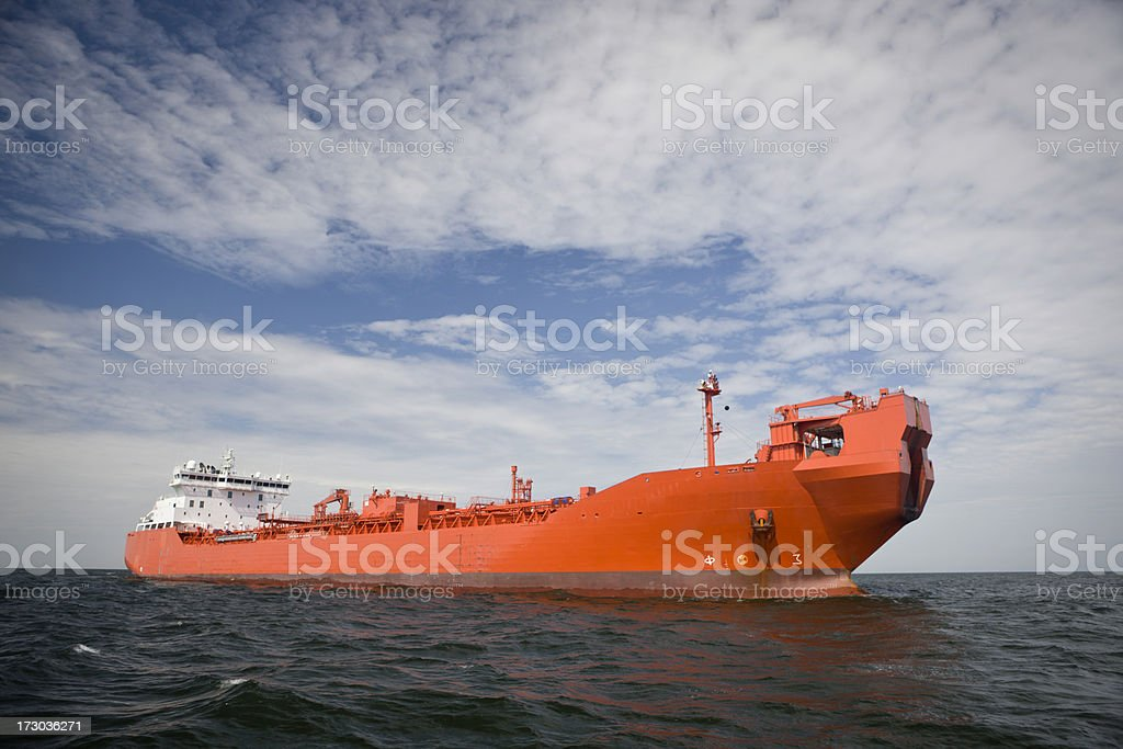 Ship's Parking Space royalty-free stock photo