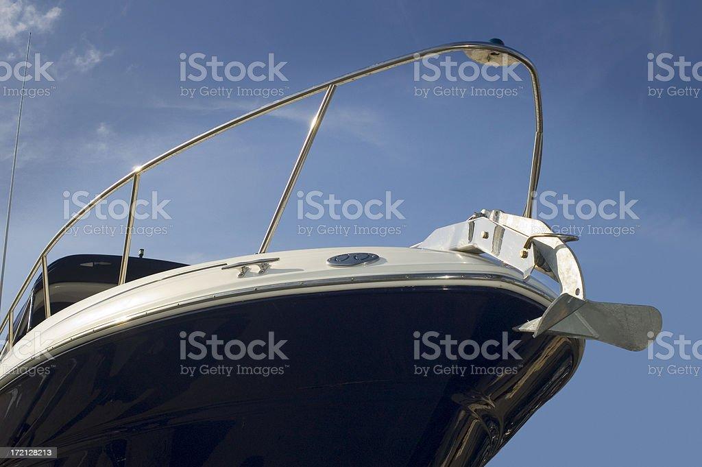 Ship's sbow royalty-free stock photo