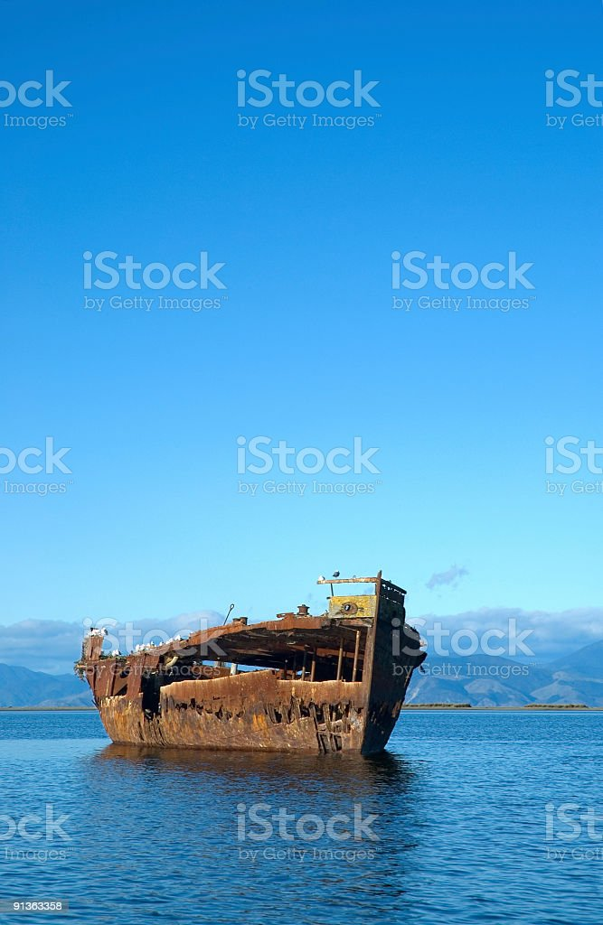 Shipwreck 01 royalty-free stock photo