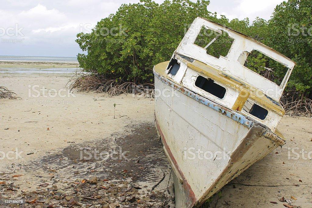Shipwreck 4 royalty-free stock photo