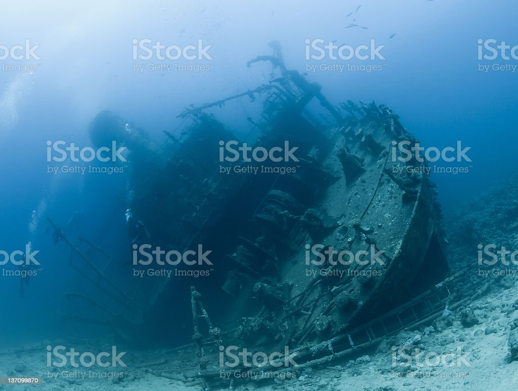 Shipwreck Gianiss D royalty-free stock photo