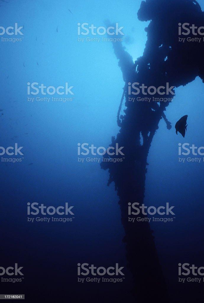 Shipwreck royalty-free stock photo
