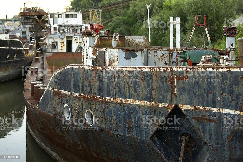 Shipwrecks royalty-free stock photo
