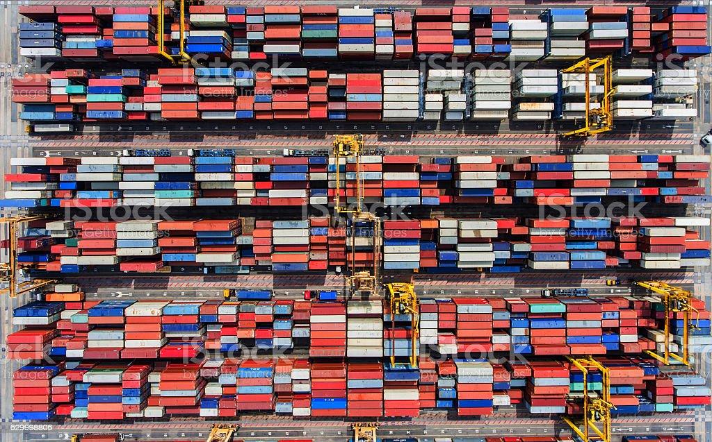 shipyard; shipping; sky; storage; structure; ship; sea; machine; stock photo