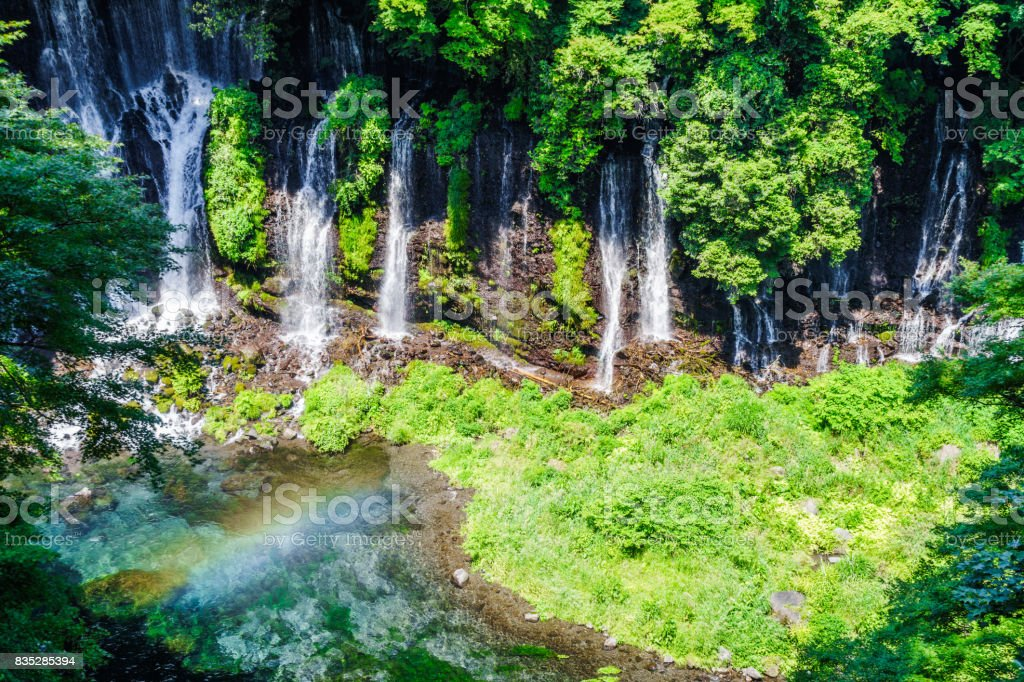 Shiraito Falls stock photo