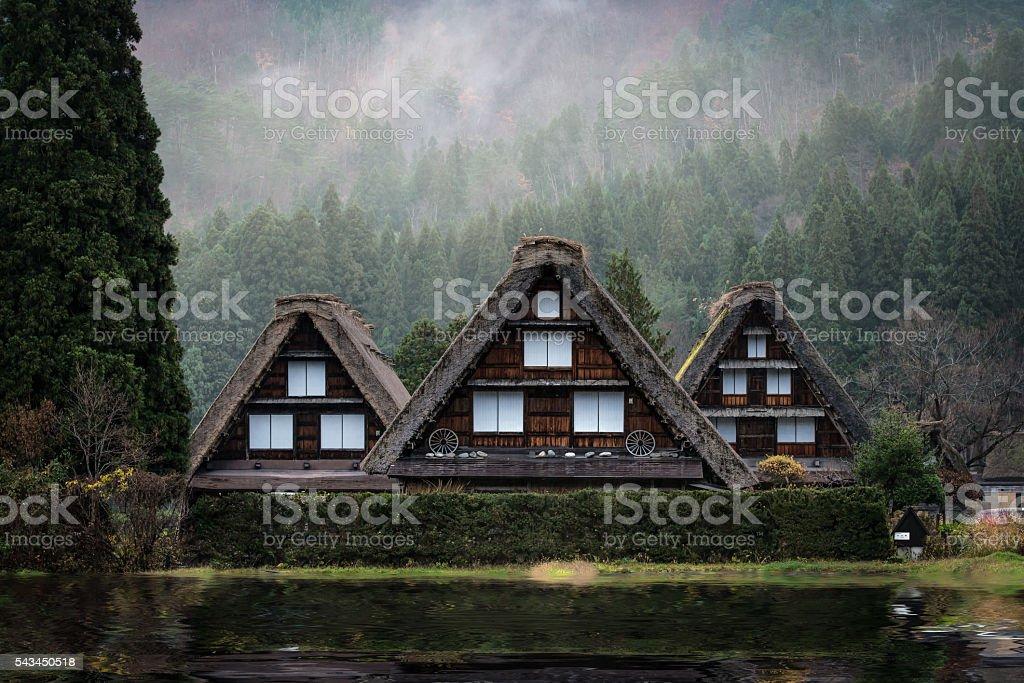 Shirakawago Village, Japan stock photo