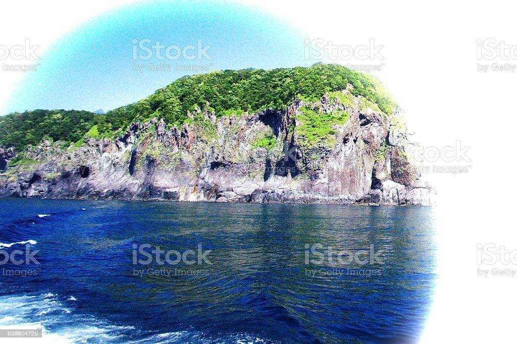 Shiretoko of the world natural legacy stock photo