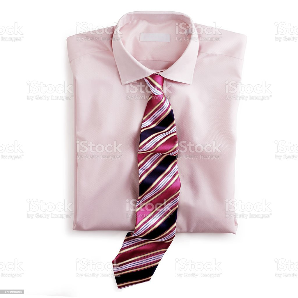 Shirt and Tie stock photo