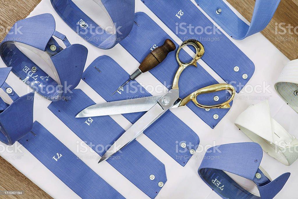 Shirt Manufacturing royalty-free stock photo