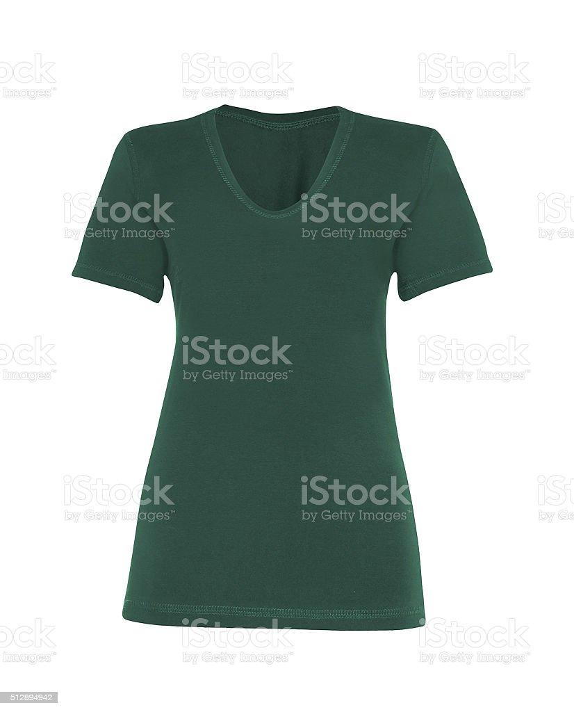 Shirt on white background stock photo