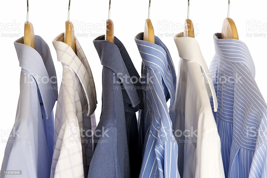 Shirt Rack... royalty-free stock photo