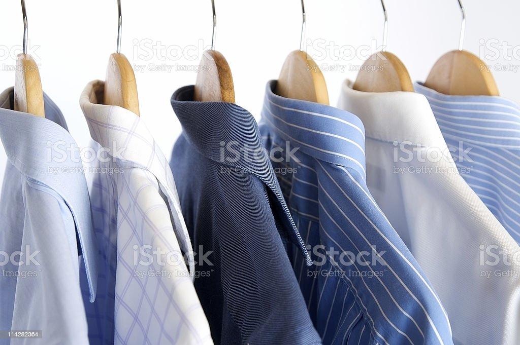 Shirt Rack... stock photo