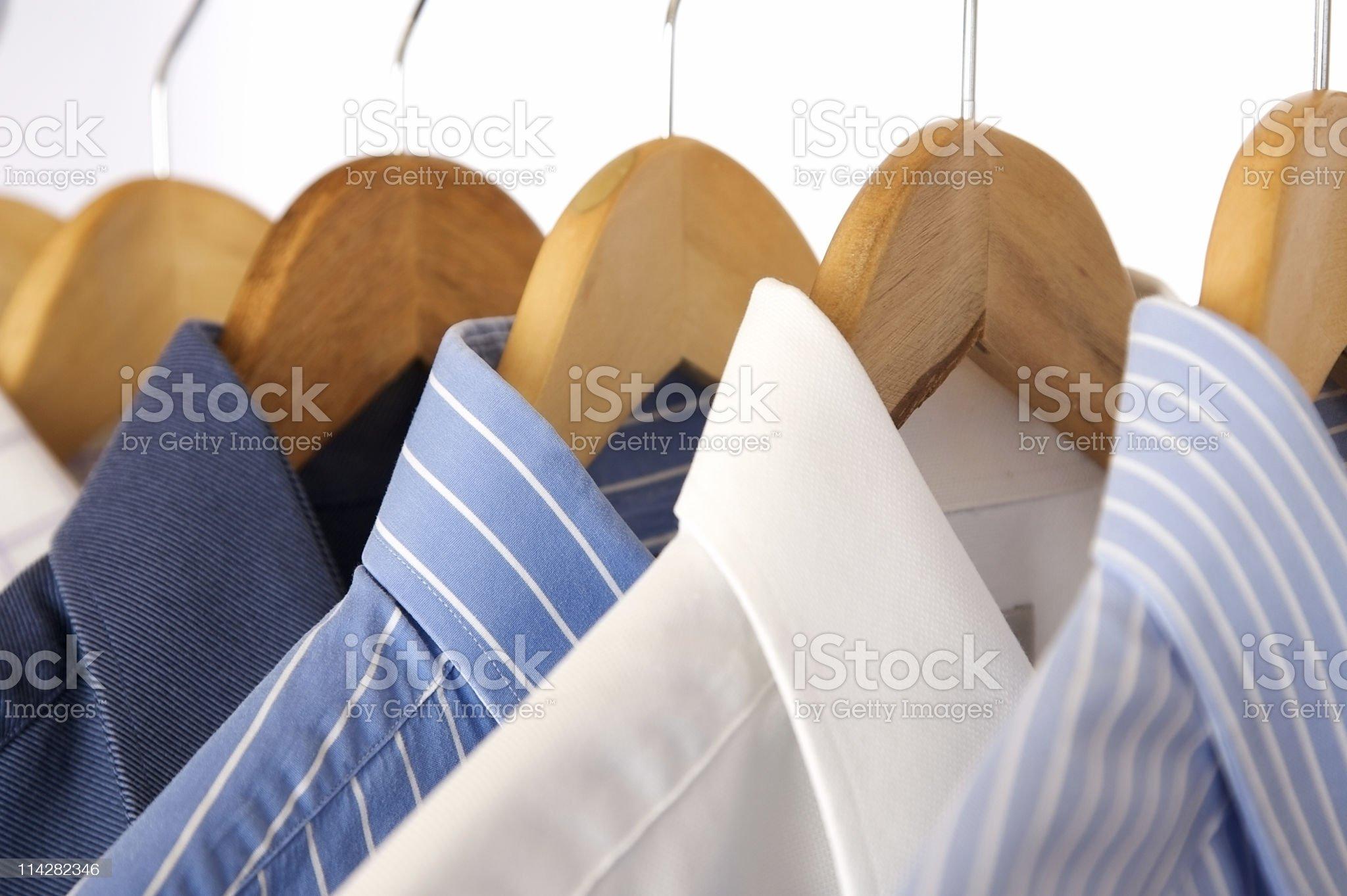 Shirt Rack V3... royalty-free stock photo