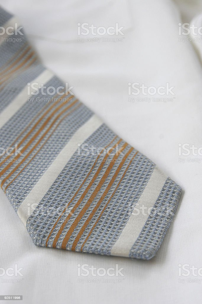 Shirt with tie royalty-free stock photo