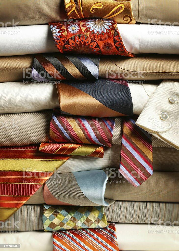 Shirts and Ties royalty-free stock photo