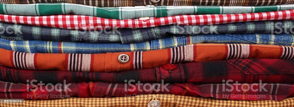 Shirts stock photo
