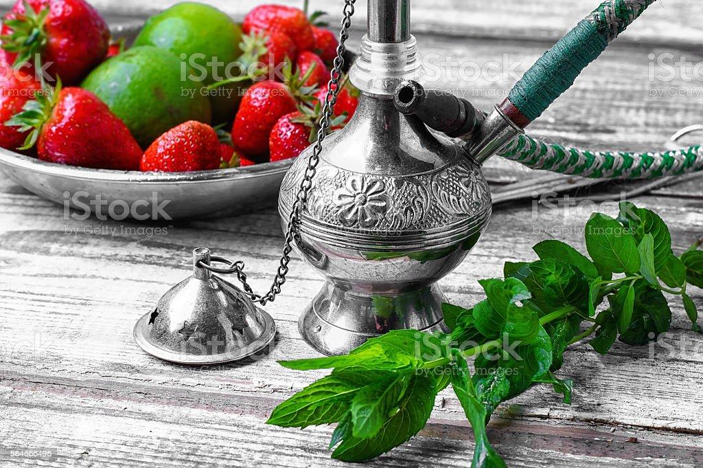 Shisha fruity aroma stock photo