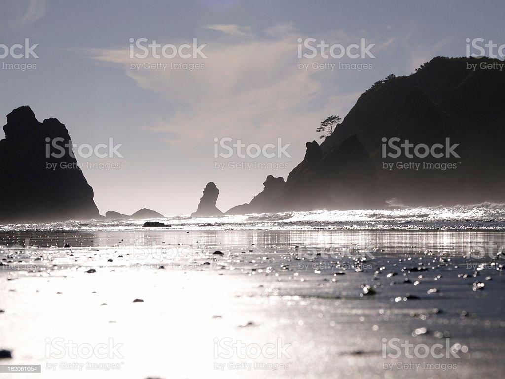 ShiShi Beach stock photo