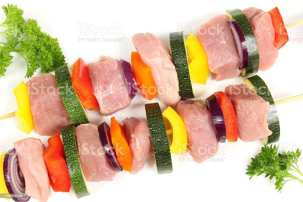 Shish-kebab royalty-free stock photo