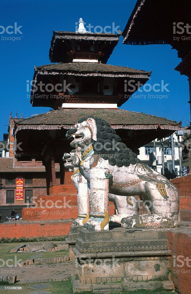 Shiva Parbati temple royalty-free stock photo