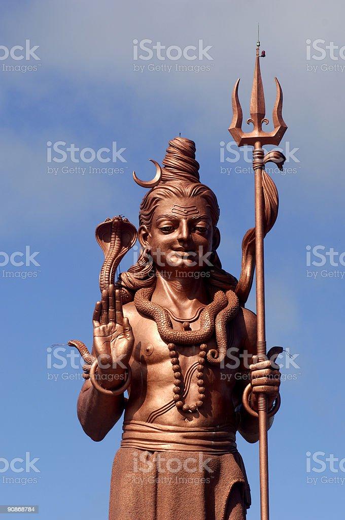 Shiva statue 3 royalty-free stock photo
