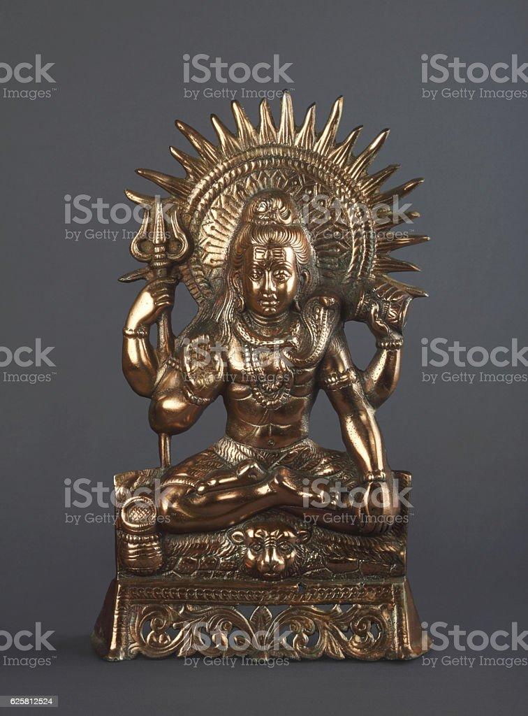 Shiva Statue stock photo