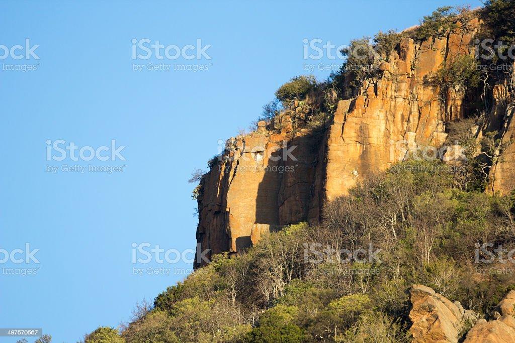 Shiyane Mountain in KwaZulu-Natal, South Africa royalty-free stock photo