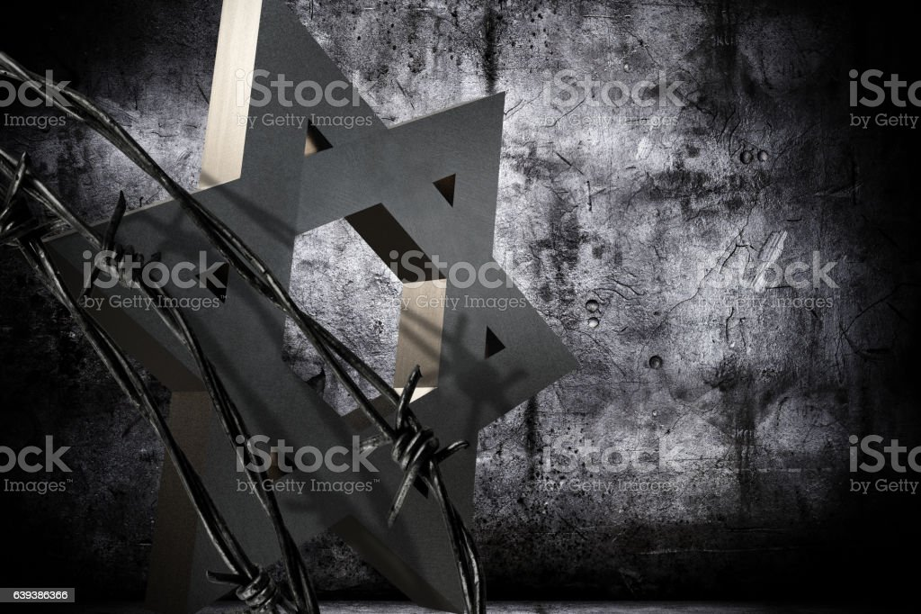 Shoah Day Memorial stock photo