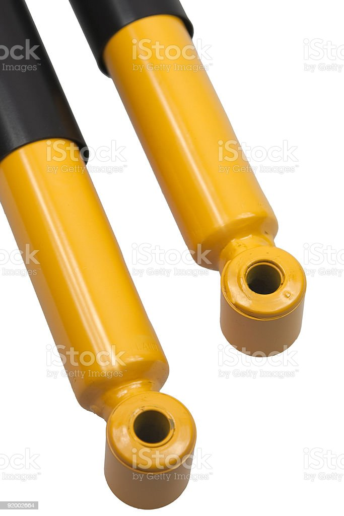 shock absorber royalty-free stock photo