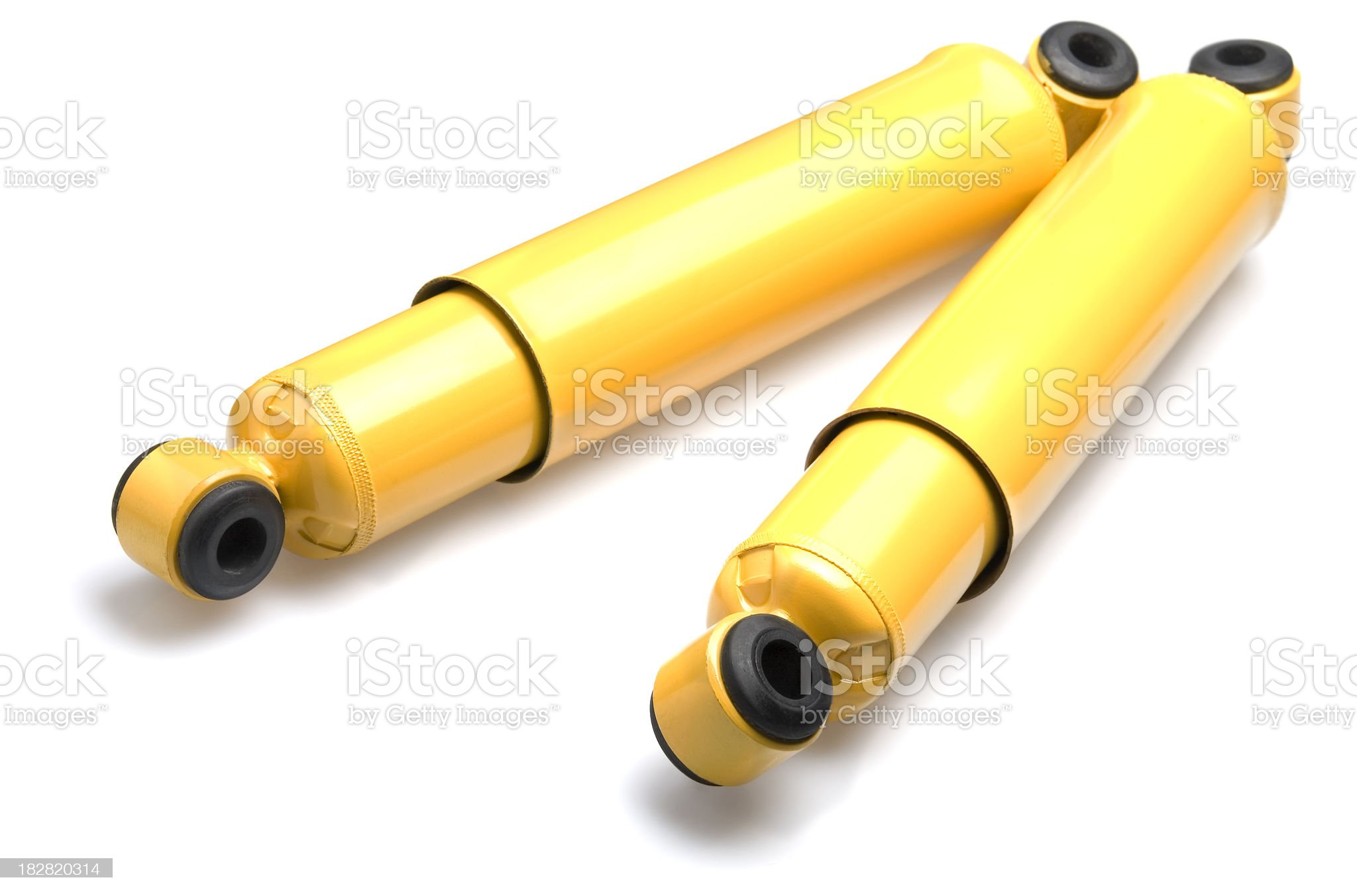 shock absorbers royalty-free stock photo