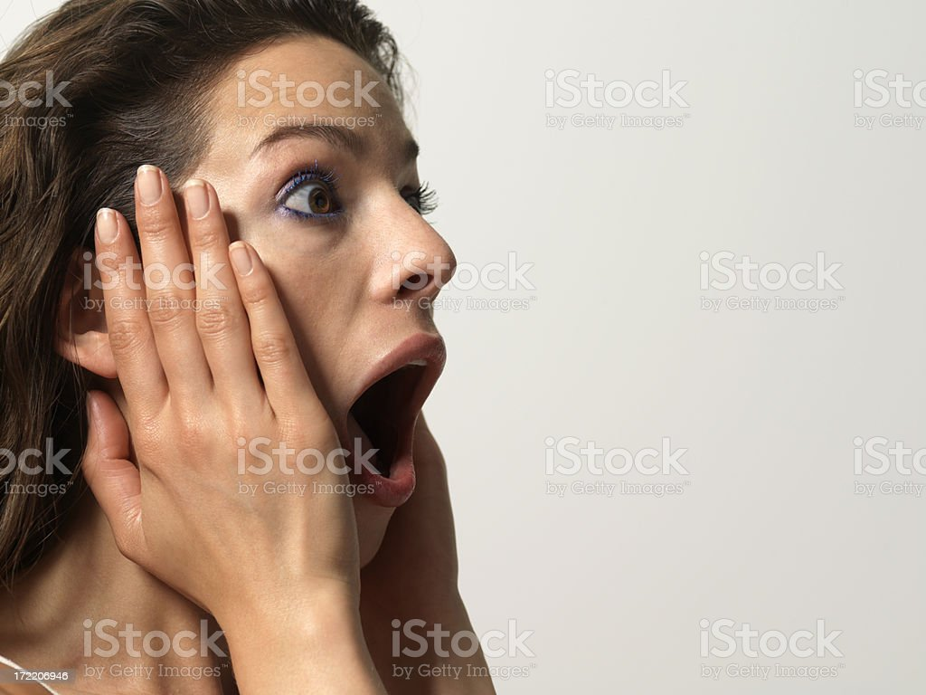 Shock royalty-free stock photo