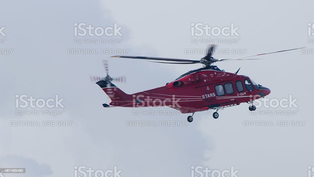S.T.A.R.S - Shock Trauma Air Rescue Society stock photo