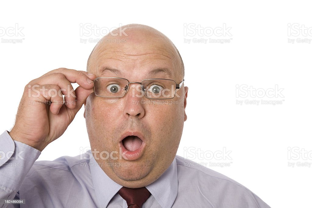 Shocked Eyes royalty-free stock photo