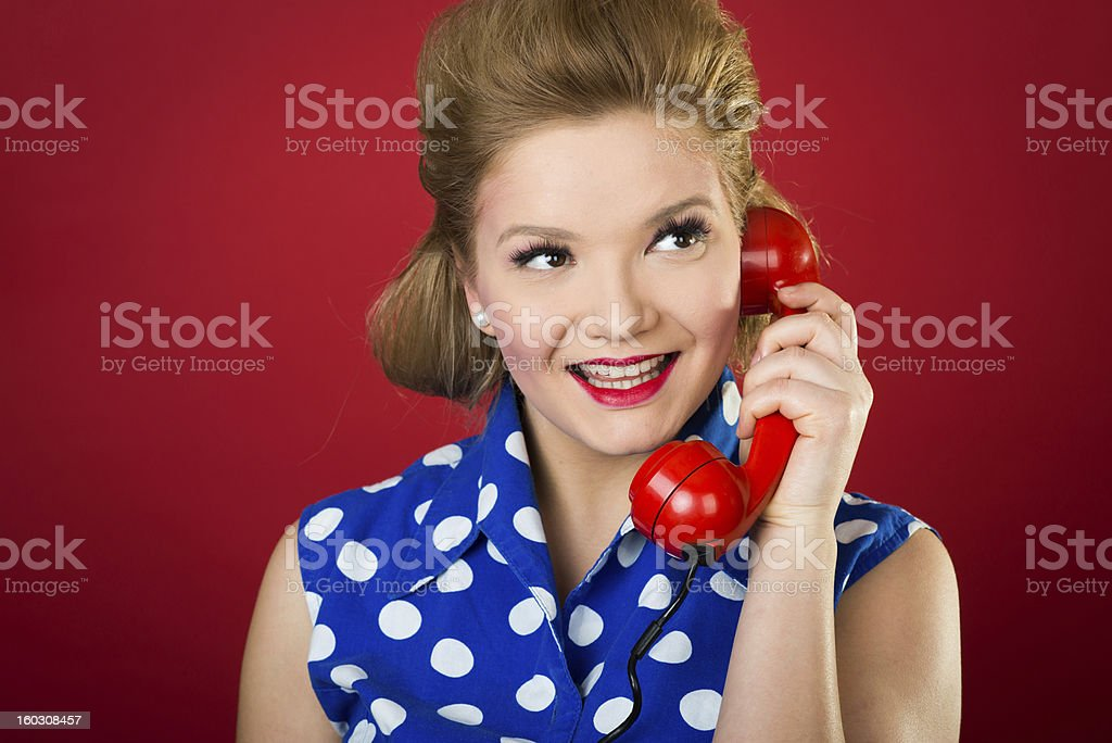Shocking Gossip royalty-free stock photo