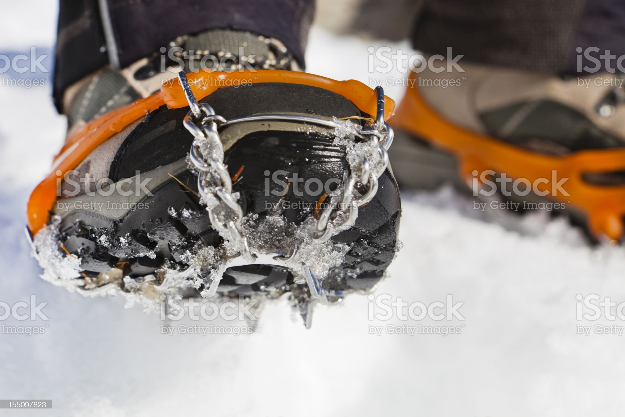 Shoe Chains royalty-free stock photo