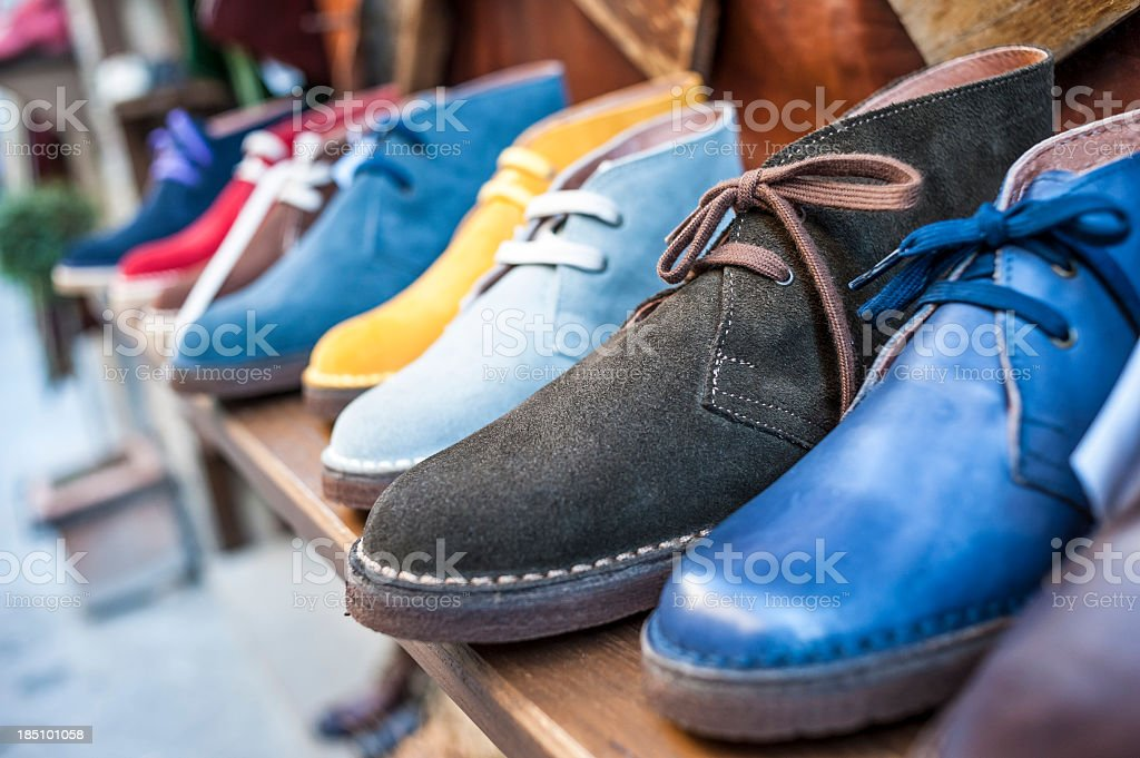 Shoe In A Store stock photo