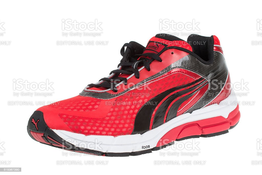 PUMA FAAS 700 shoe. Isolated on white. Product shot stock photo