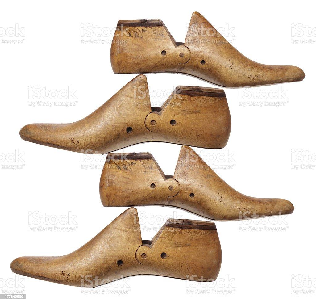 Shoe Lasts royalty-free stock photo
