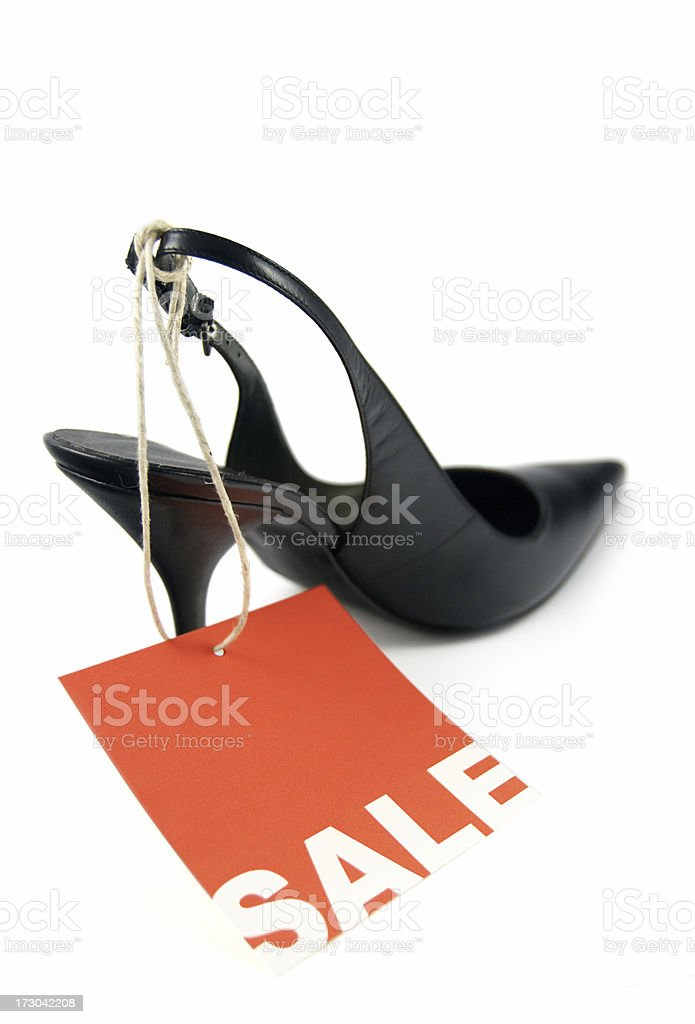 shoe on sale royalty-free stock photo