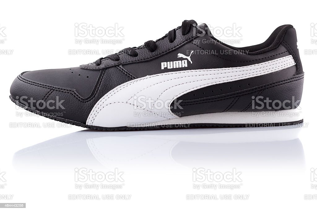 Shoe puma stock photo