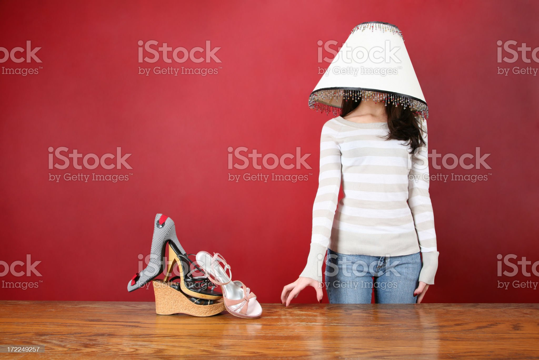 Shoe Stalker royalty-free stock photo