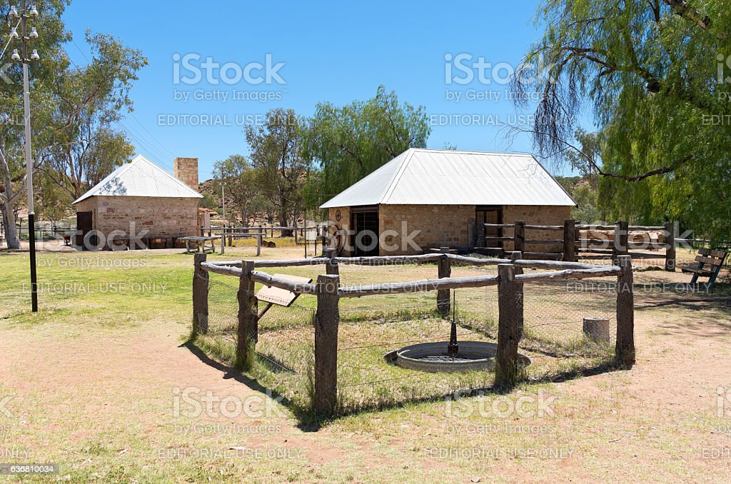 Shoeing Yard and Battery Room at Station stock photo